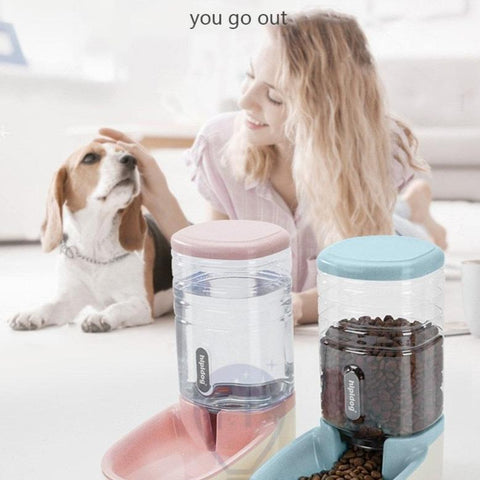 Doggy Stuff Shop Automatic Feeders Water Fountain For Dog