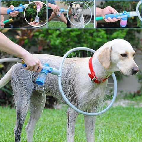 Dog Cleaning Sprayers Gun