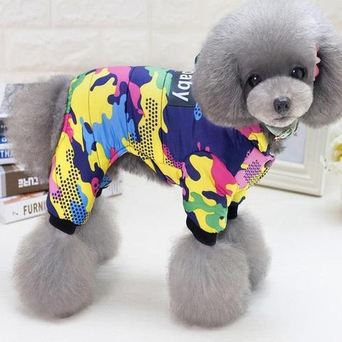 Doggy Stuff Shop Winter Windproof Coat For Dogs