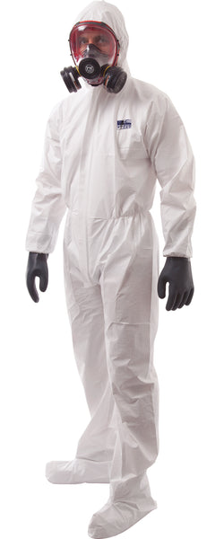 Coveralls with shoe Covers