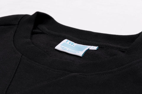 CREW NECK SWEAT - SORT - TURTLE WORKWEAR