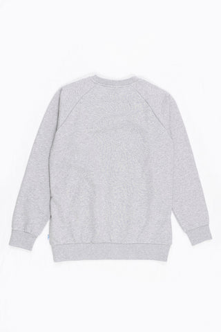 CREW NECK SWEAT ORGANIC - GREY