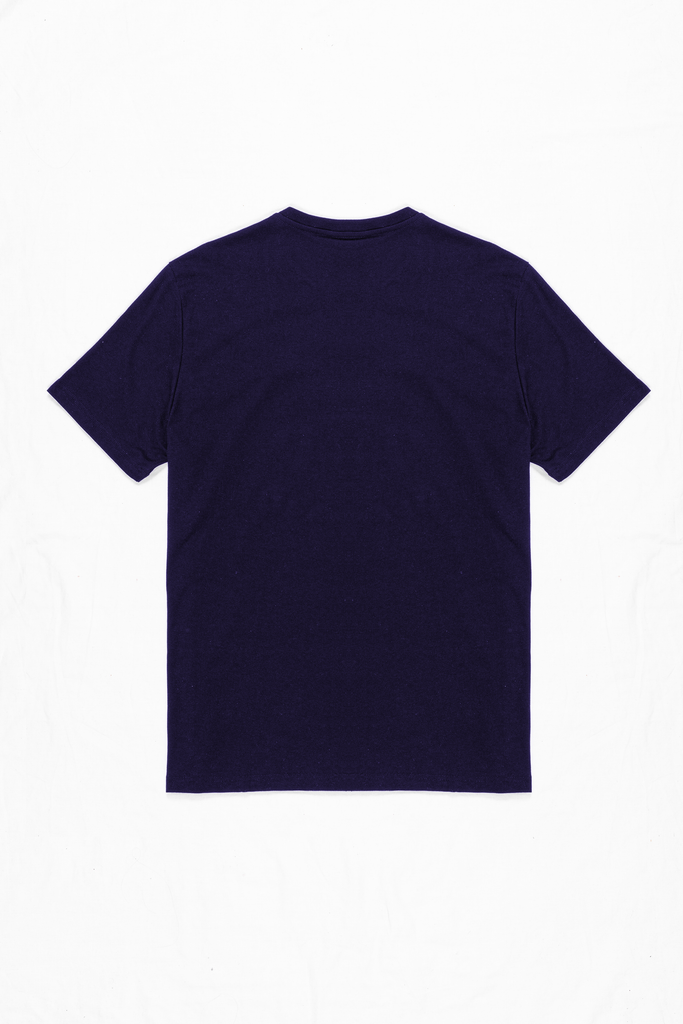 TEE ORGANIC - CLASSIC FIT - NAVY