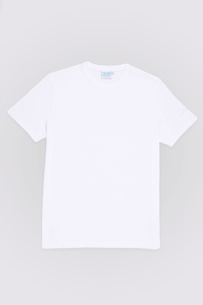TEE ORGANIC - CLASSIC FIT - WHITE