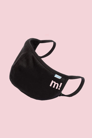 M! - ICON - FACE MASK - BLACK
