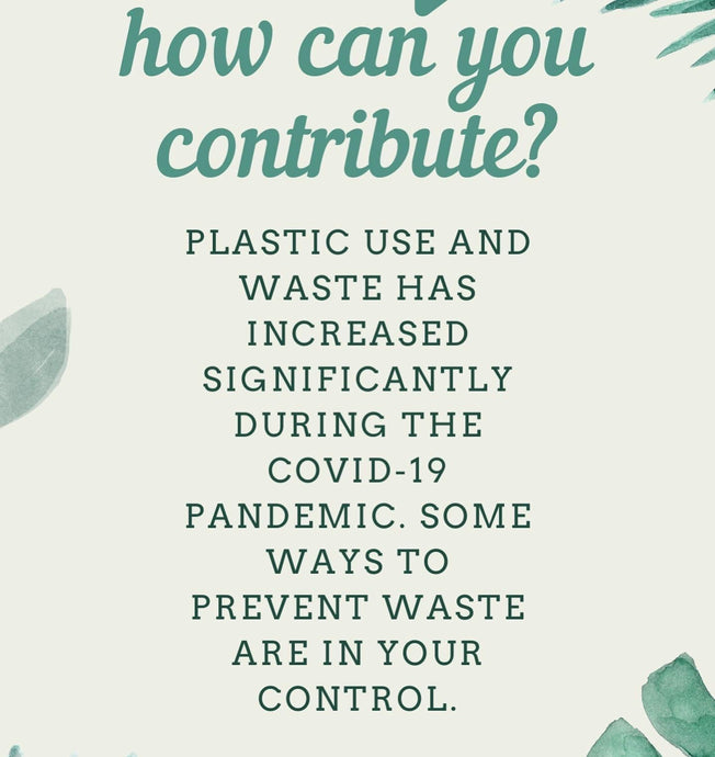 Contributing to Plastic Free July