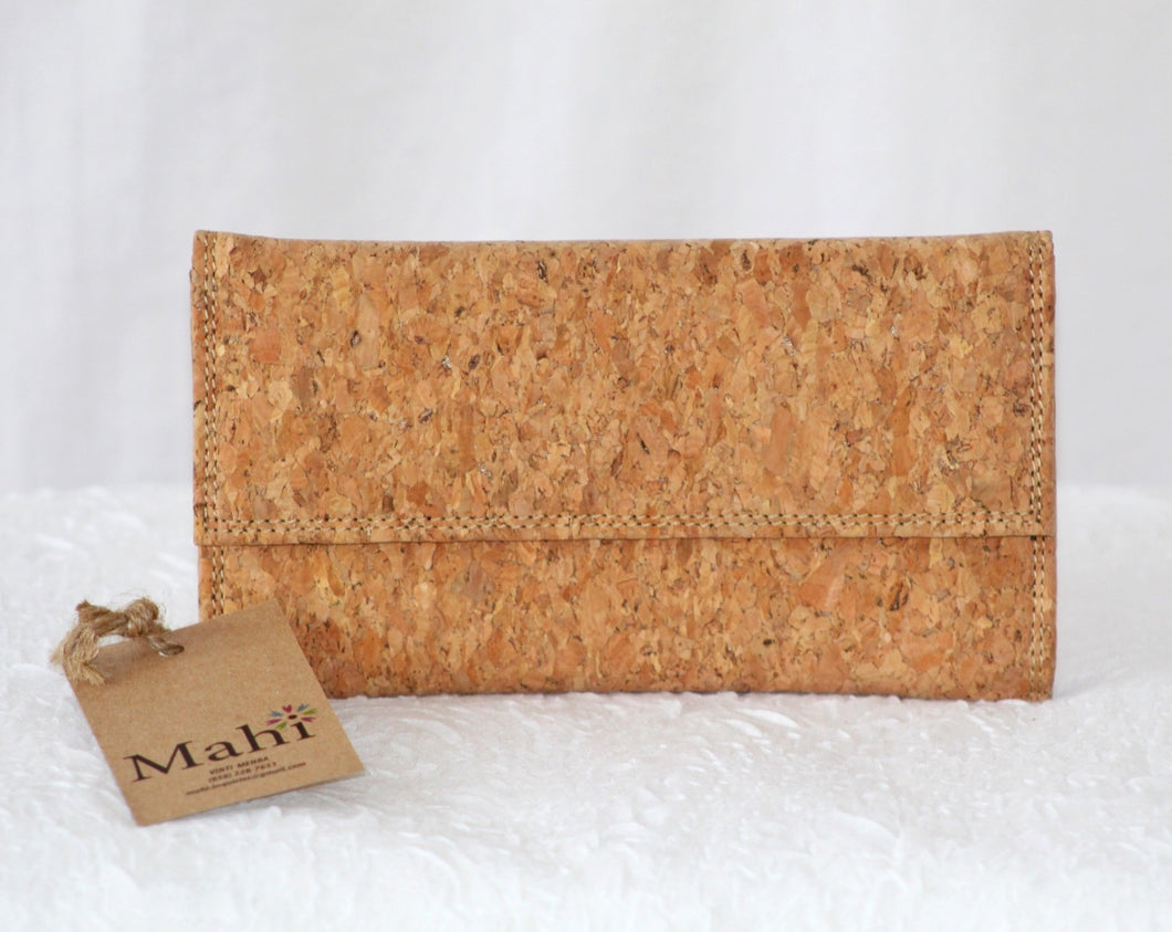Cork Trifold Wallet