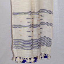 Load image into Gallery viewer, Handloom Jamdani Stole: Ivory
