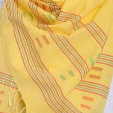 Load image into Gallery viewer, Handloom Jamdani Stole: Light
