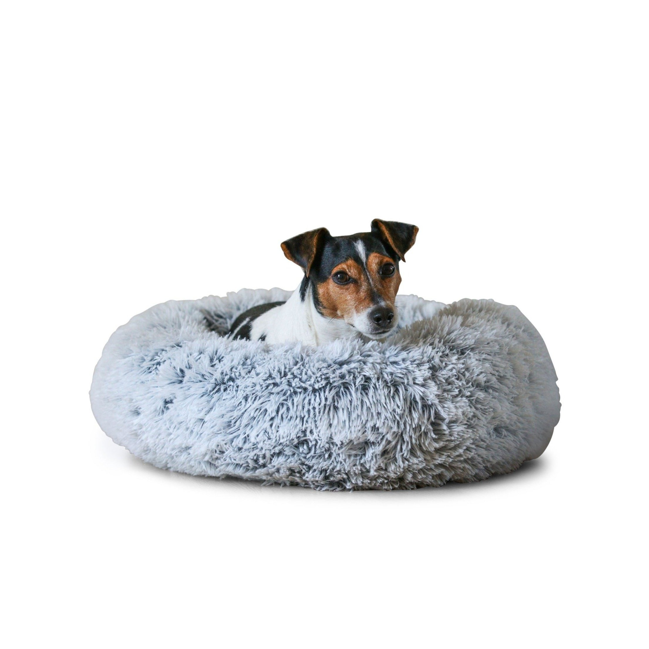 Calming Dog Bed Light Grey