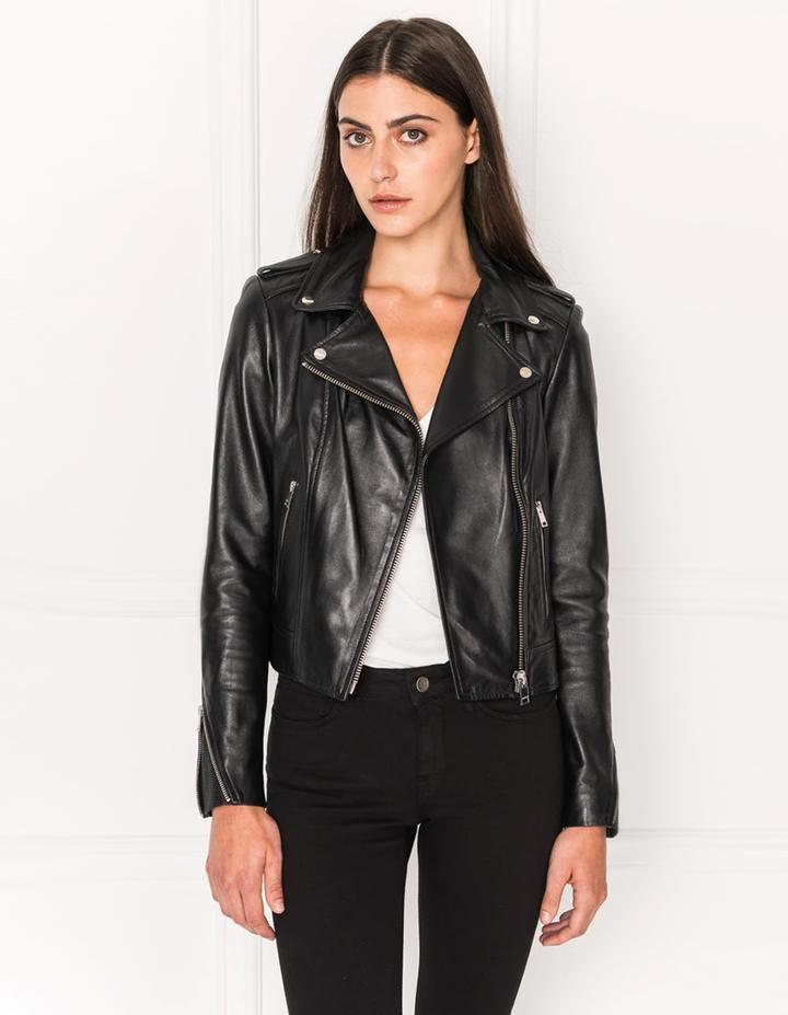 Current Obsession- The Leather Biker Jacket