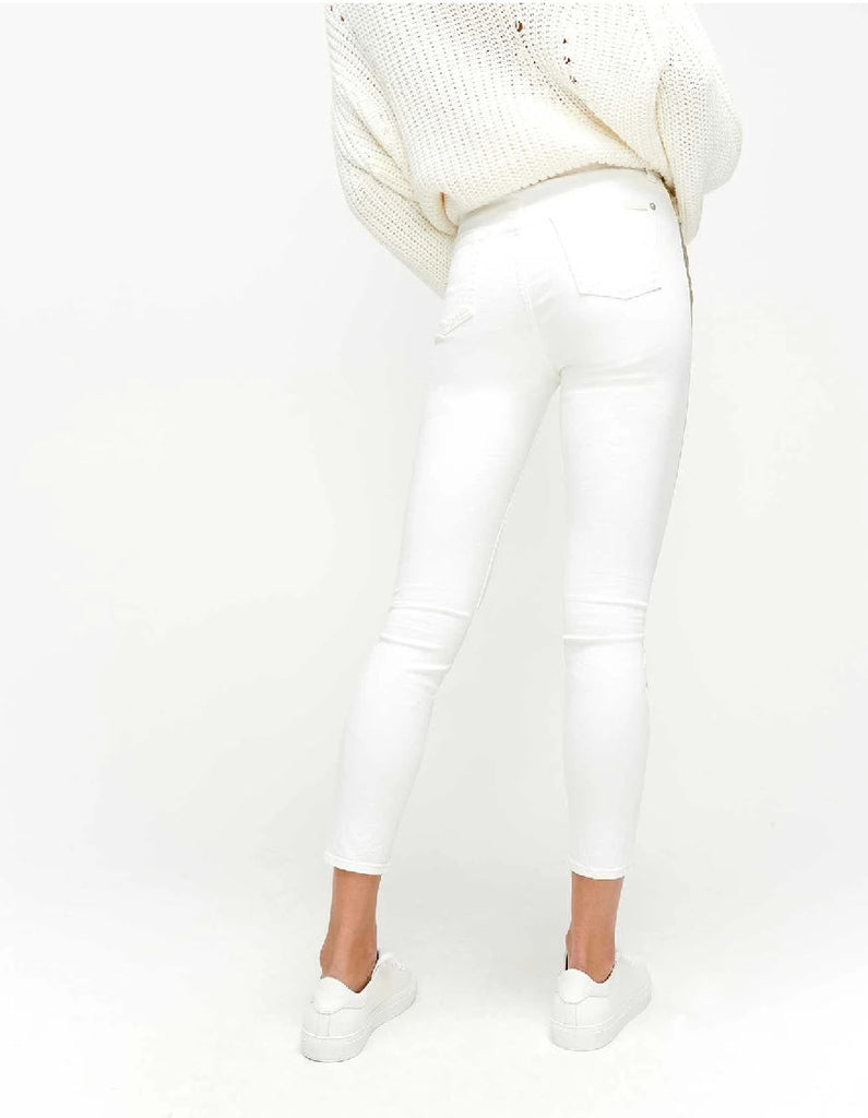 7 for all Mankind High Waist Ankle Skinny - Sunset - Styleartist