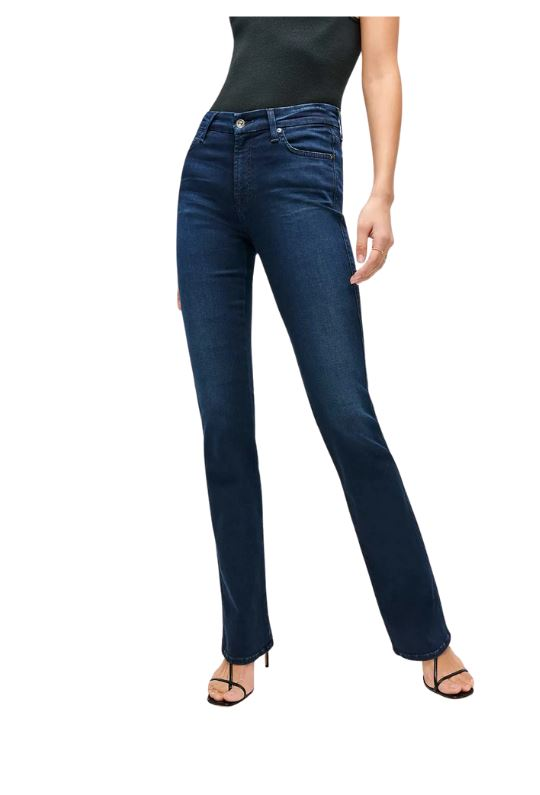 7 For all Mankind Slim Illusion Kimmie Bootcut - Twilight Blue - Styleartist
