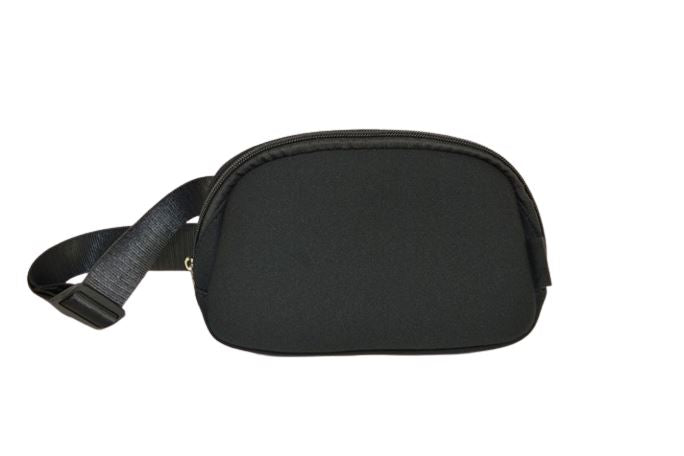 Bag & Bougie Neoprene Fanny Pack- Black - Styleartist