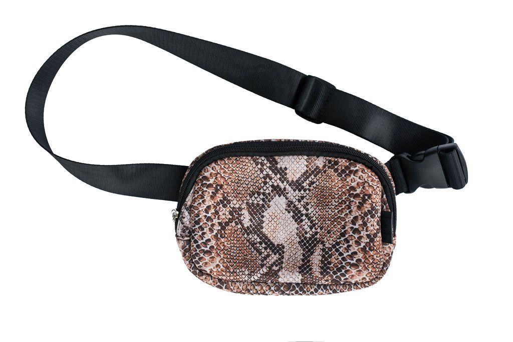 Bag & Bougie Neoprene Fanny Pack- Cobra - Styleartist