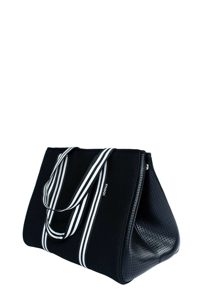 Bag & Bougie Neoprene Sport Tote- Black - Styleartist