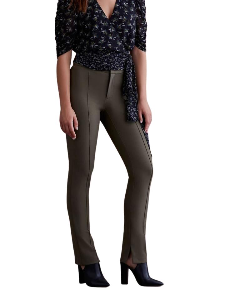 Bailey 44 Cora Slim Pant - Army - Styleartist