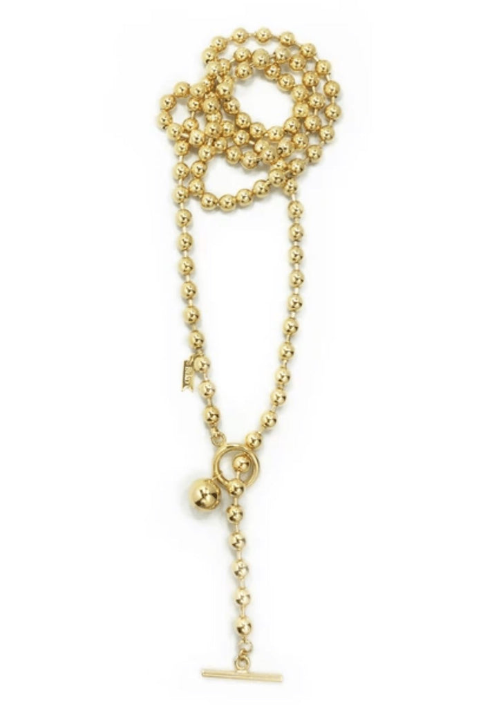 Biko Endless Dotchain Necklace - Gold - Styleartist