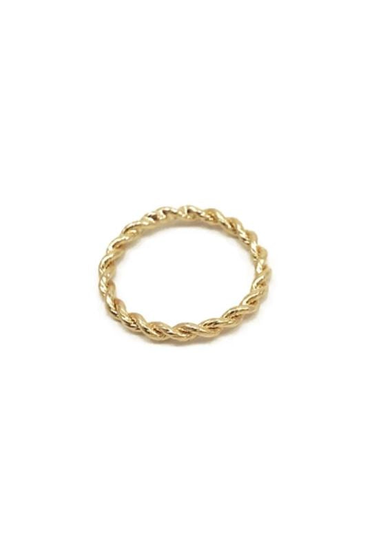 Biko Helix Ring - Gold - Styleartist