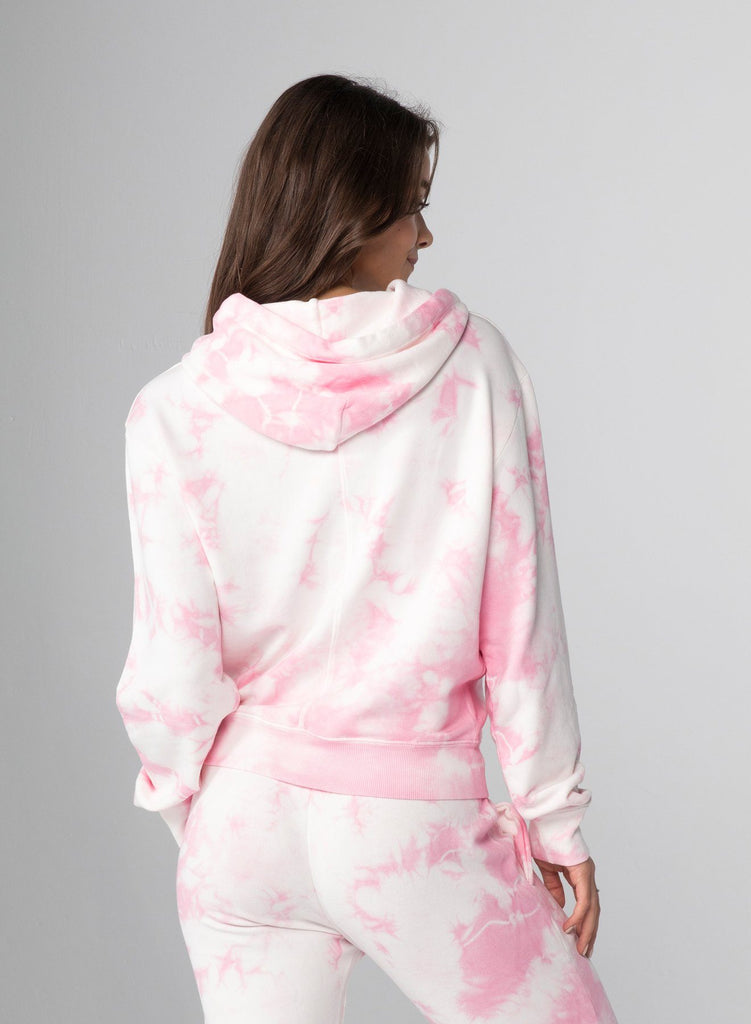 CHRLDR Lips Crop Pullover Hoodie- Pink Cloud - Styleartist