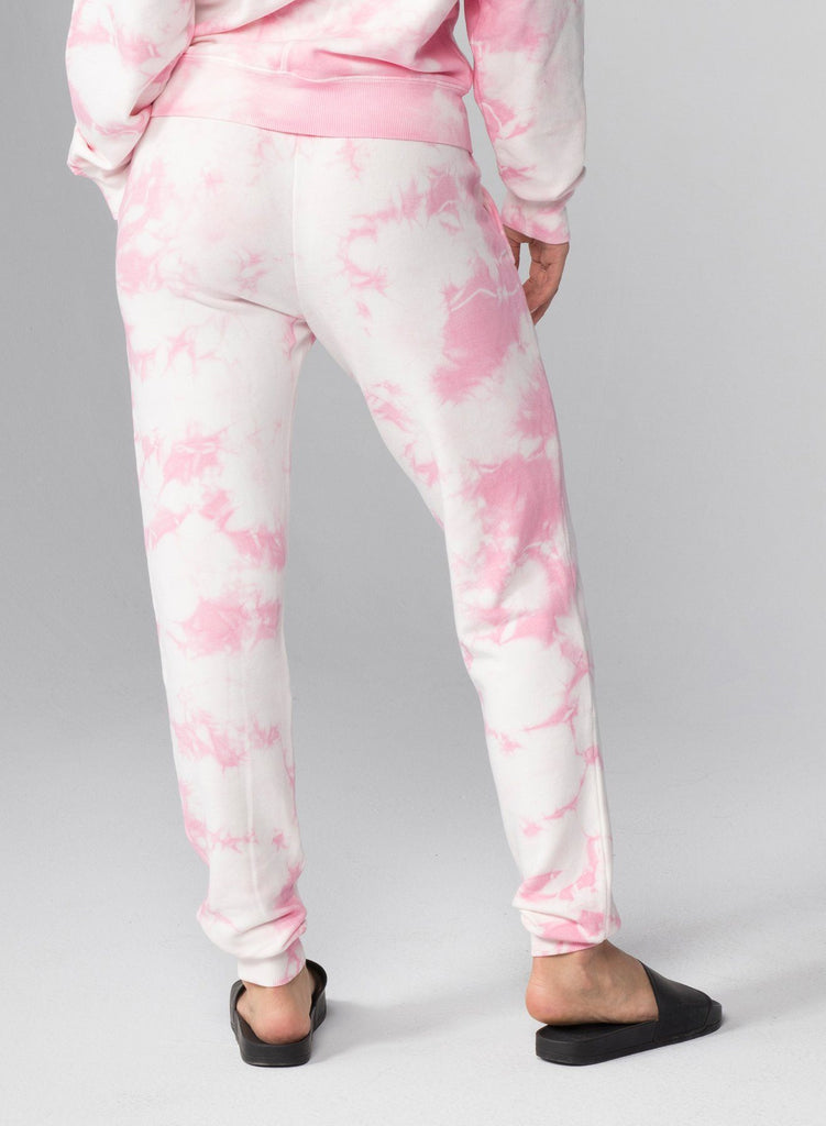 CHRLDR Lips Flat Pocket Sweatpants- Pink Cloud - Styleartist