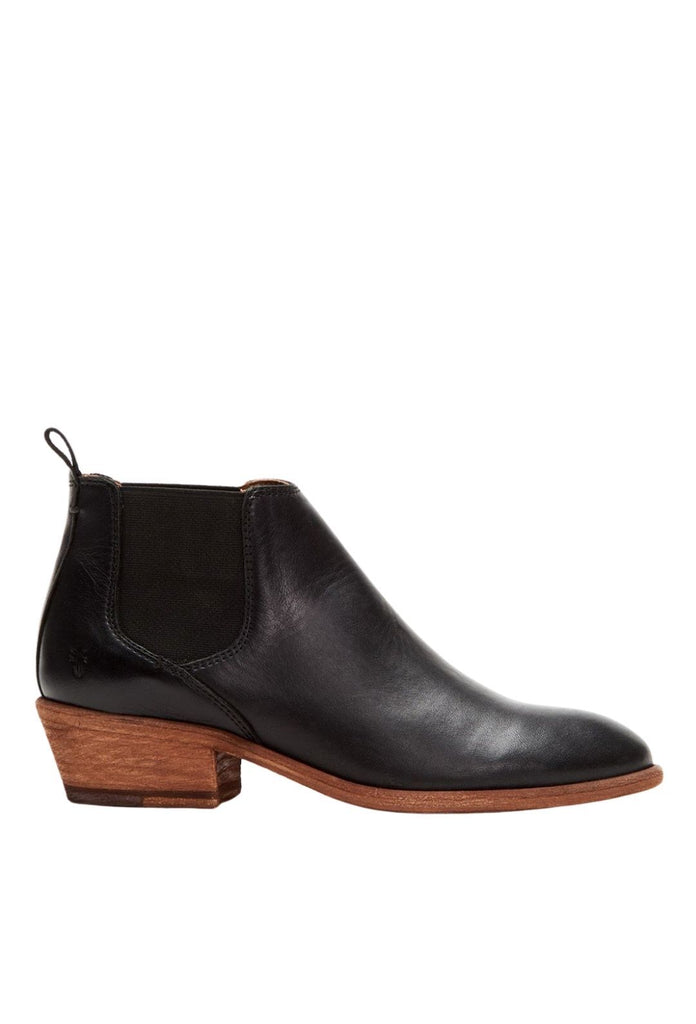 Frye Carson Chelsea Boot- Black Soft Full Grain Leather - Styleartist