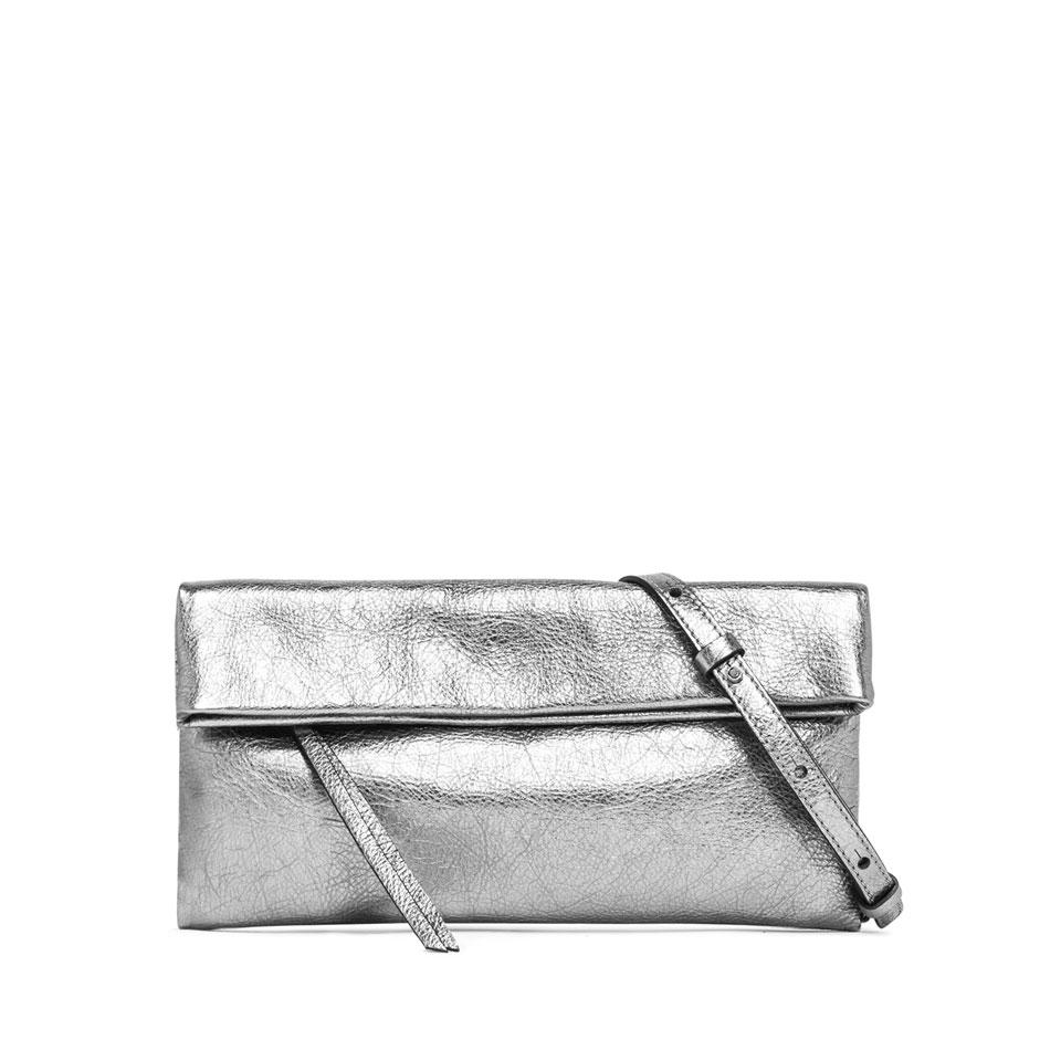 Gianni Chiarini Cherry Medium Silver Clutch Bag - Styleartist