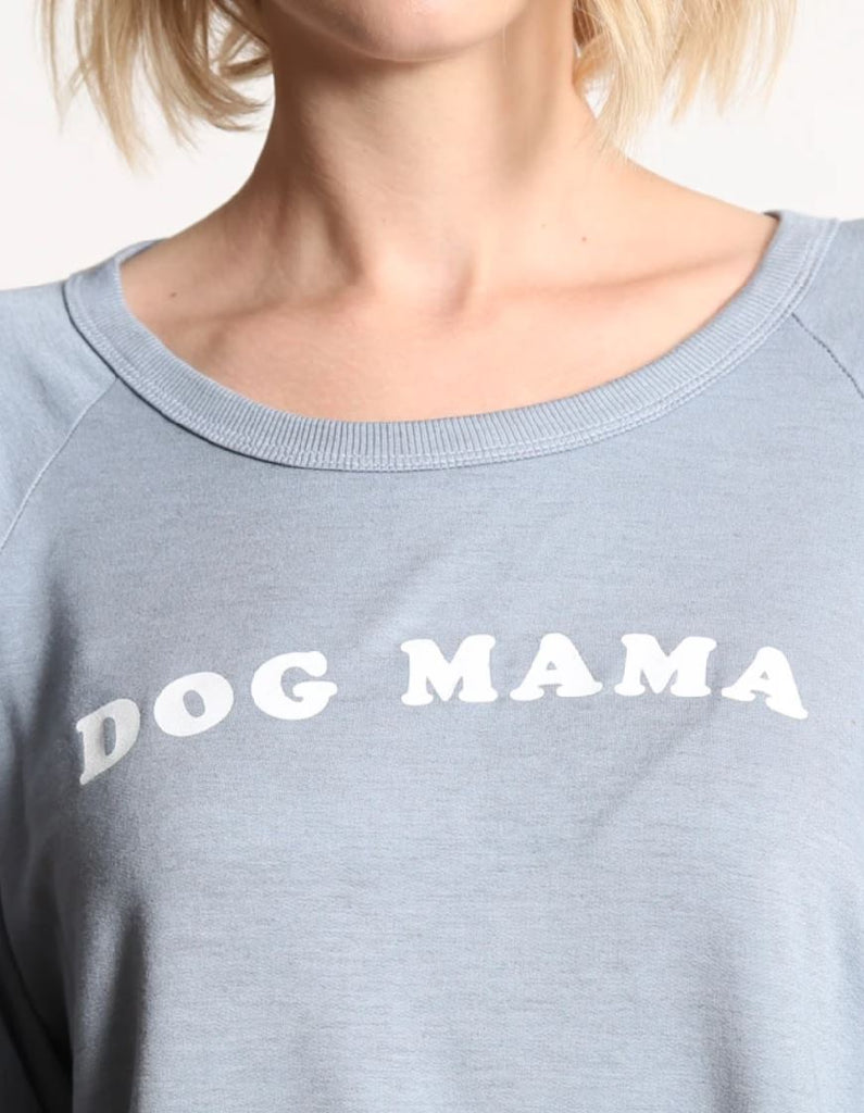 Good Hyouman Dave Dog Mama Sweater - Polar Blue - Styleartist