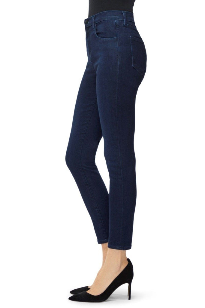 J Brand Alana High-Rise Cropped - Photo Ready Bluebird - Styleartist