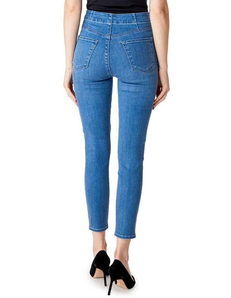J Brand Natasha Sky High Crop Skinny Jean- Photo Ready HD Argo - Styleartist