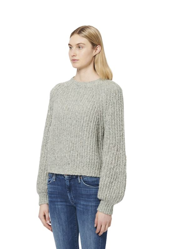 Line Odile Knit Crew Neck Sweater - Aurora - Styleartist