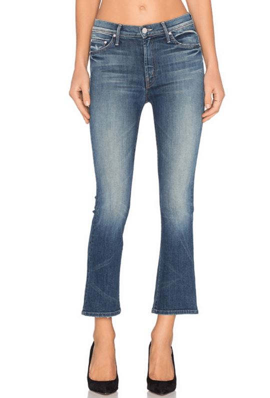 Mother Denim Insider Crop - Double Trouble - Styleartist