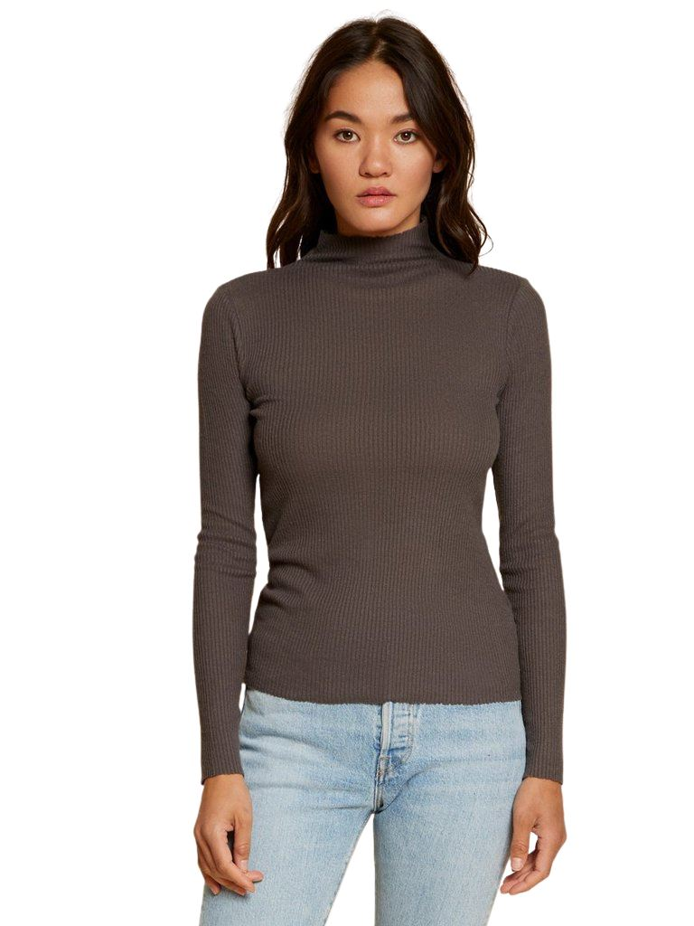 Nation Aime Turtleneck Tee- Sparrow - Styleartist