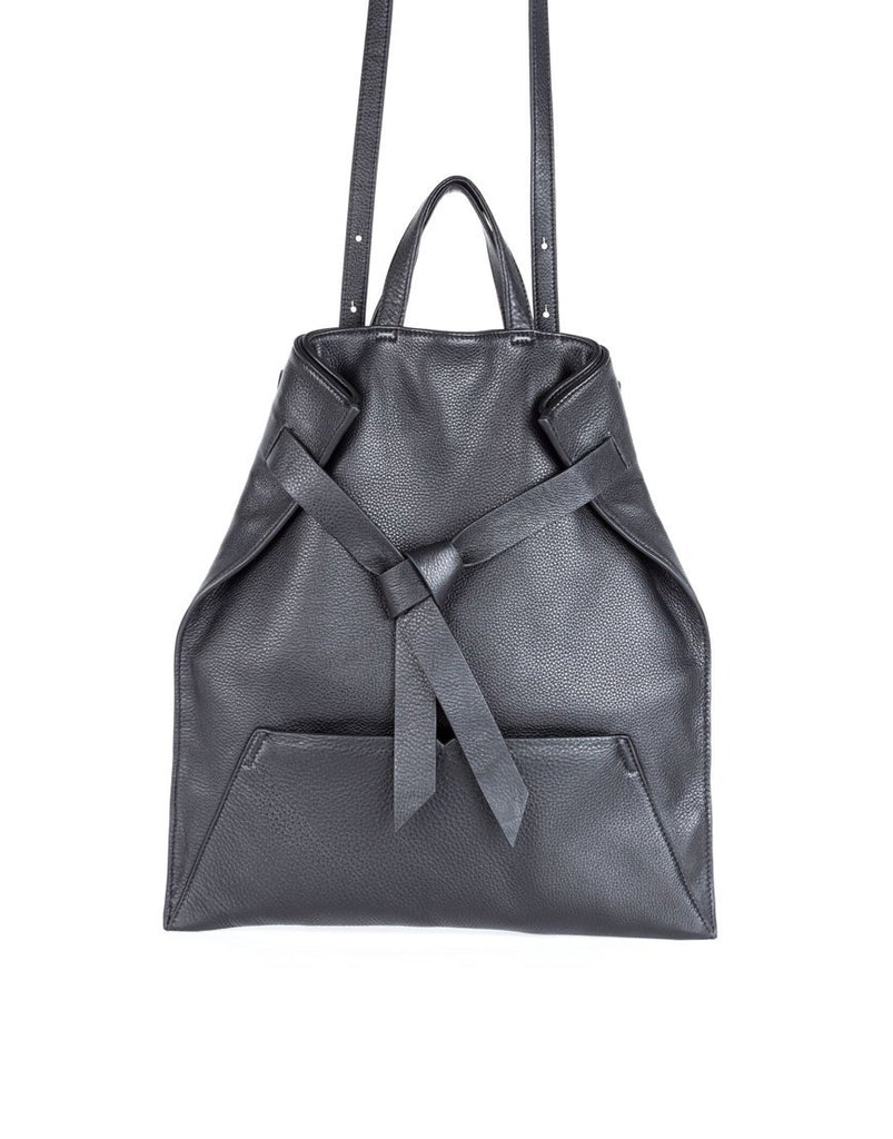 Philo Knotty Convertible Tote Black - Styleartist