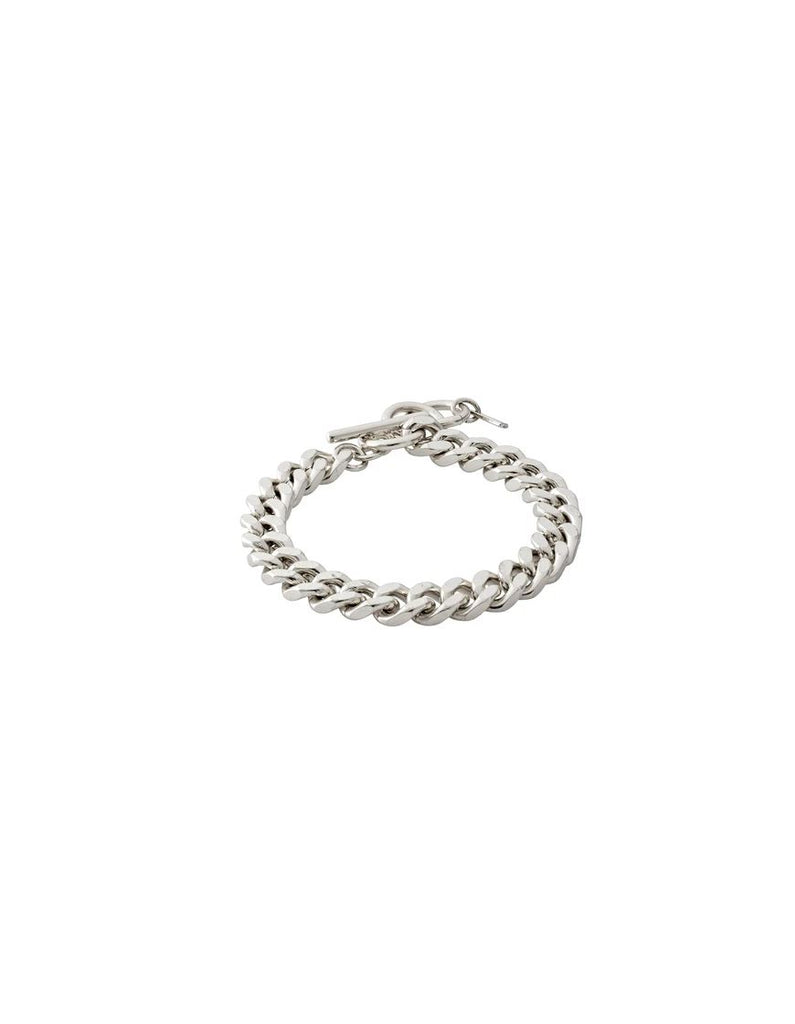 Pilgrim Chain Bracelet Water Element- Silver Plated - Styleartist