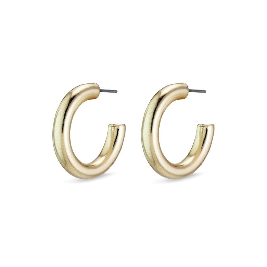 Pilgrim Maddie Hoop Earrings- Gold Plated - Styleartist