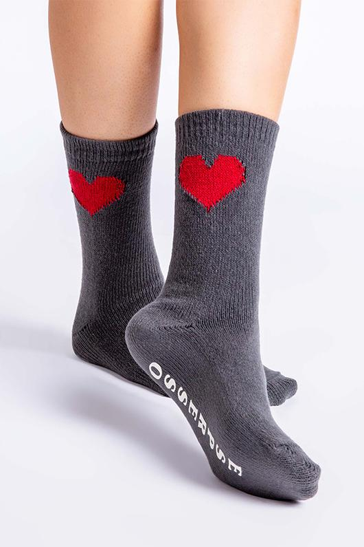 PJ Salvage Fun Socks Espresso Yourself- Charcoal - Styleartist
