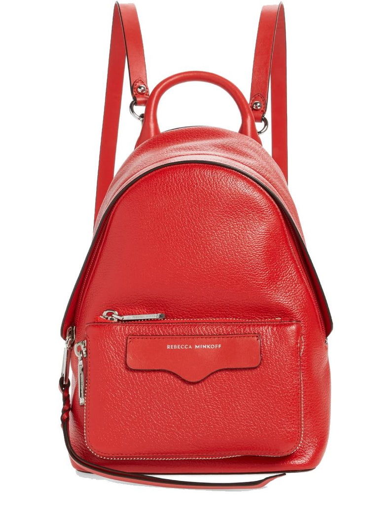 Rebecca Minkoff Emma Mini Convertible Backpack- Tomato Red - Styleartist