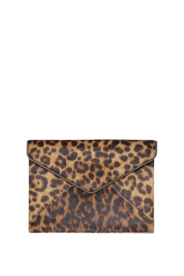 Rebecca Minkoff Leo Clutch- Leopard - Styleartist