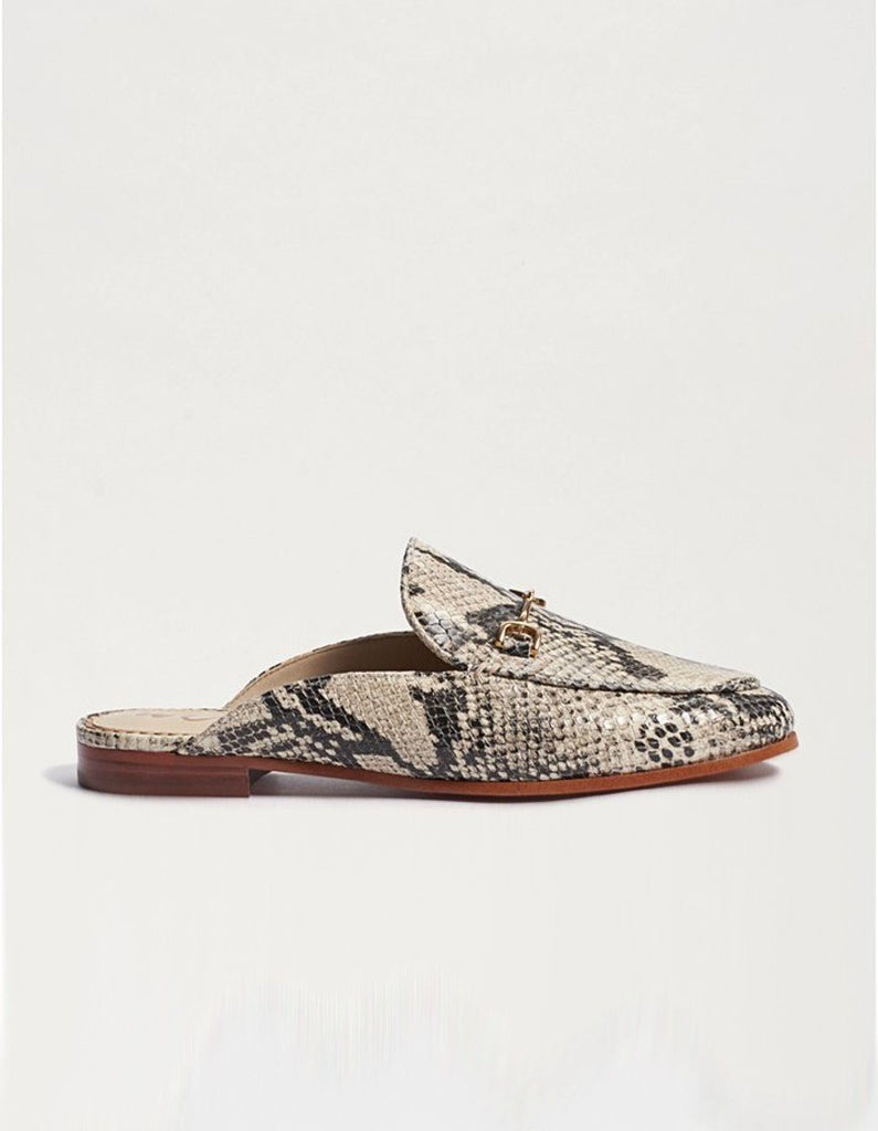 Sam Edelman Linnie Mule Loafer with Hardware- Beach Multi Pacific - Styleartist