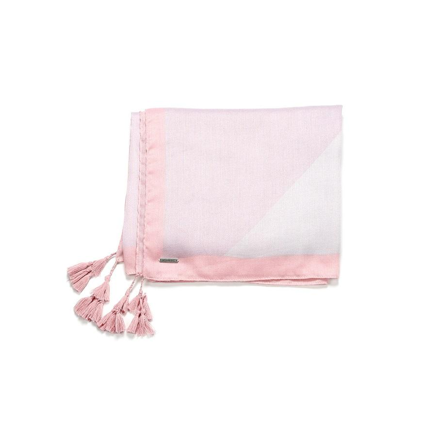 Soia and Kyo Cedine Printed Lightweight Scarf- Rose - Styleartist