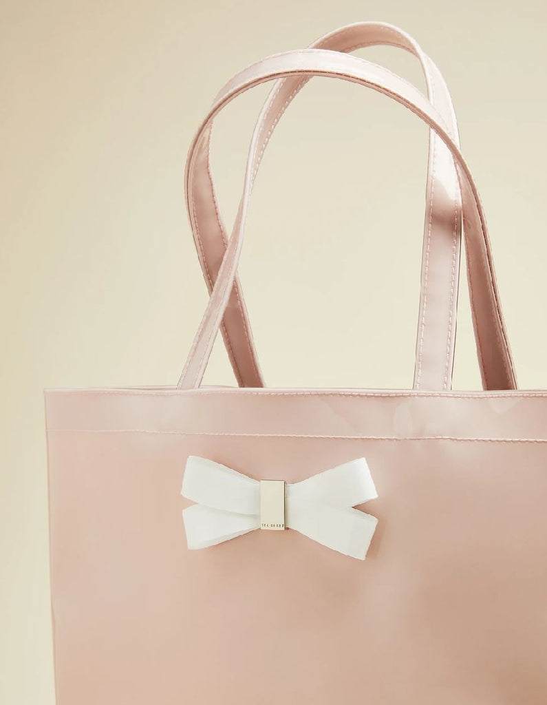 Ted Baker Gabycon Large Icon Tote - Dusky Pink - Styleartist
