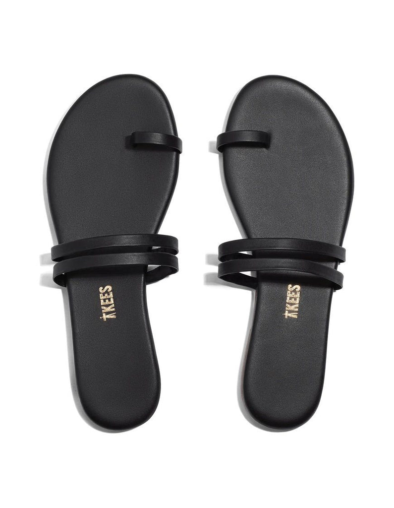 Tkees Leah Toe Cross - Black - Styleartist