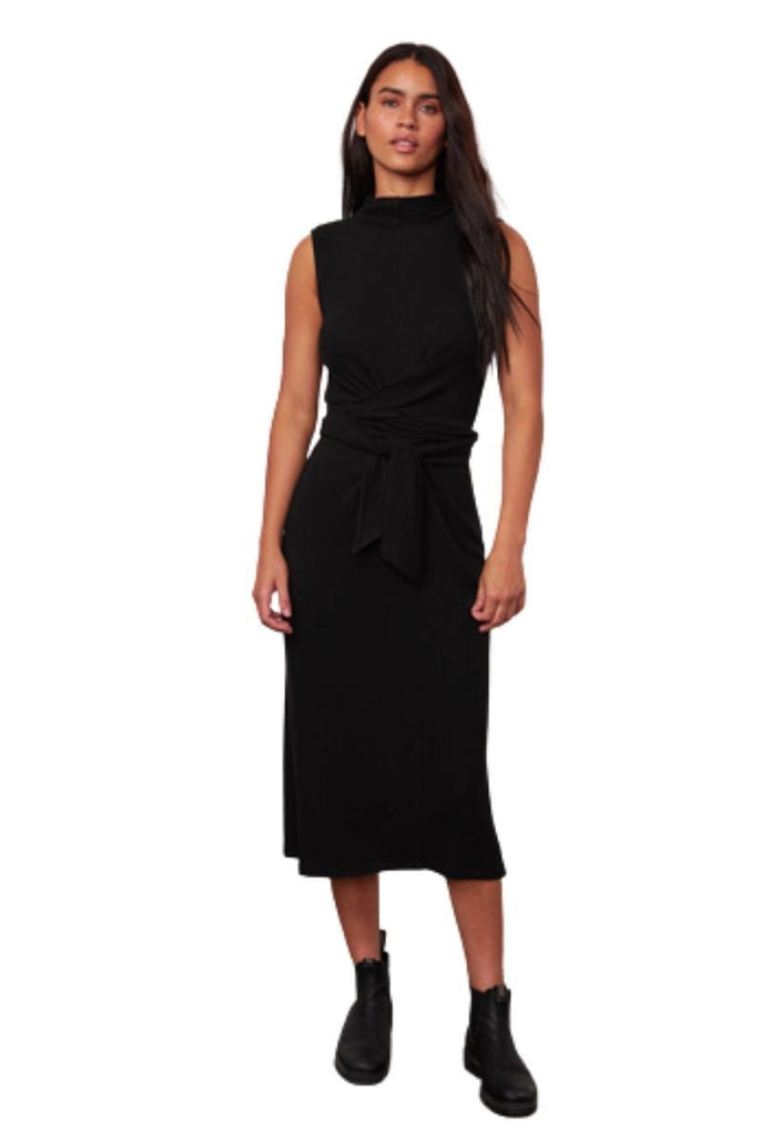Velvet Peni Cozy Lux Dress - Black - Styleartist