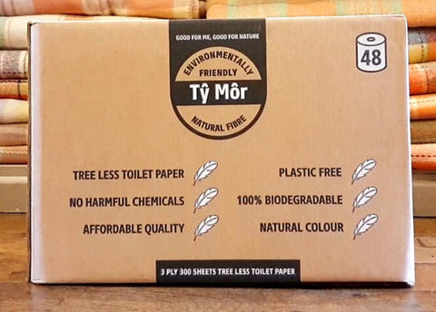 Tree Free Toilet Rolls, Zero Waste, Plastic Free, Bamboo Toilet Paper Loo Rolls, 48 Rolls, 3ply, soft quality, affordable luxury, best toilet rolls, money back guarantee.