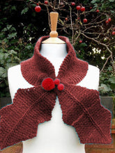 Load image into Gallery viewer, Autumn Winter Fashion New Leaf Shape Scarf