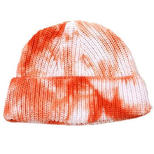 Load image into Gallery viewer, Autumn and Winter Tie-dye Retro Knitted Baotou Woolen Hat