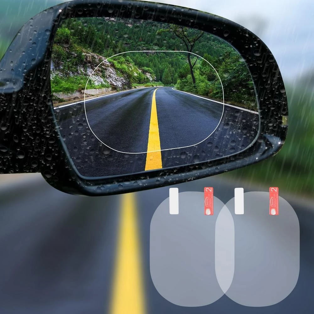 Waterproof Rearview Mirror Protector (2 PCS)