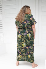 Load image into Gallery viewer, Mahla Twist Front Maxi Dress // Lotus
