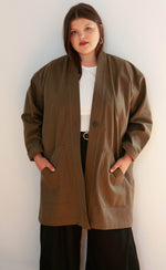 Load image into Gallery viewer, The Fellow - Long Sleeve Duster Coat